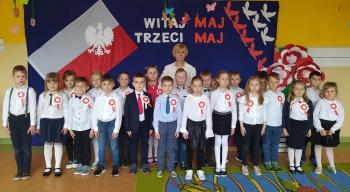 Przedszkolaki z grupy IX