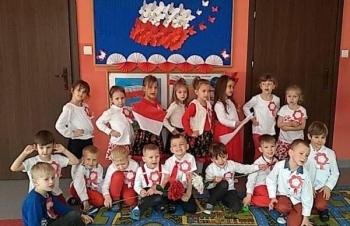 Przedszkolaki z grupy IV