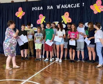 Laureaci konkursu matematycznego- ''Zawody Matematyczne''